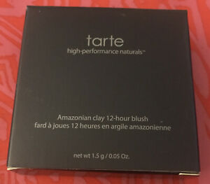 Tarte Amazonian Clay 12 Hour Blush in Quirky Travel Size 0.05 oz / 1.5g