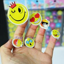 Cartoon Smile Pattern Teacher Reward Desk Paper Label Stickers