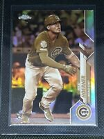 2020 Topps Chrome NICO HOERNER RC #161 SEPIA REFRACTOR Chicago Cubs ROOKIE CARD
