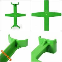 Motorcycle Fork Support Tie Down Seal Saver Brace Transportation Protector Green