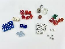 Misc Vintage Dice Lot Of 40 Dice - Metal, Wood, Glass Resin / plastic, other?