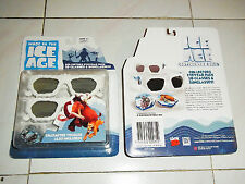 Toys Disney Ice Age 4  Movie REALD 3D Glasses Kid's 3D Glasses Sunglasses Serice