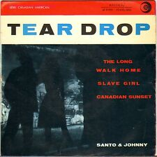 "SANTO & JOHNNY ""TEARDROP"" 60'S EP RICORDI 45 S 070"