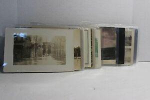 Vintage Photo Postcards, RPPC, Landscapes, Buildings, Still Life,  Lot of 50