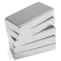 Starke Neodym Magnete Ø 50x25x10mm Block Magnet Quader N35 NdFeB Quadermagnet