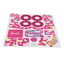 Power Wheels W6215 Barbie Lil Quad Decal Label Sheet Fisher Price Genuine