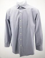 Polo Ralph Lauren Mens Size 16 32/33 Estate Long Sleeve Shirt Plaid  Excellent