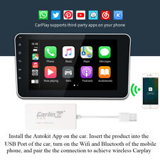 Bluetooth Wireless CarPlay USB Dongle for Android iOS Car Navigation Player US