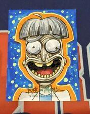 Rick and Morty Season 3 Artist Sketch Card 1/1 - Chris Meeks