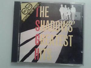 The Shadows - The Shadows' Greatest Hits (1989) CD - Non-Digipack version