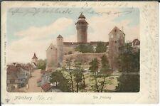 Ansichtskarte - Nürnberg - Blick auf die Freiung - Litho 1901 - Dr. Trenkler Co.