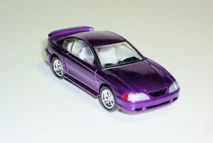 Hot Wheels - Four Decades Of Pony Power - 1996 Mustang GT - Purple