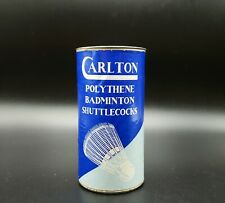 Vintage 1950s Carlton Badminton Shuttlecocks Tin ~ Made in England