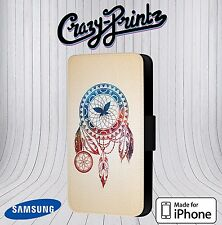 Dreamcatcher Dream Catcher Cool fits iPhone / Samsung Leather Flip Case Cover W9