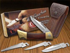 Case xx xx-Changer Lockback Knife Polished Rosewood Stainless Pocket Knives 174