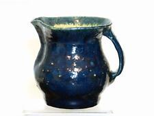 Merrick Boyd Blue Jug — Australian Studio Pottery