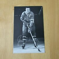 JEAN BELIVEAU 1968-69  Montreal Canadiens B&W team postcard  1969  68-69 NR/MT++