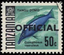 """TANZANIA O14 (SG O14) - Green Birdmouth Wrasse """"Gomphosus caeruleus"""" (pa34610)"""