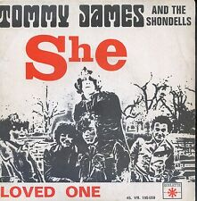 7inch TOMMY JAMES she FRANCE EX +PS