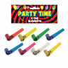 8 Pk Metallic Foil Blowouts Assorted Colours - Birthday Christmas New Year