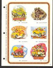 AD SHEET #2640 - PHOTO-LITH INTERNATIONAL T-SHIRT DECALS - DIRT BIKE - VW BUG