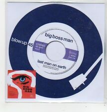(FL320) Big Boss Man, Last Man On Earth - 2014 DJ CD