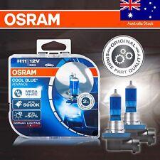 H11 711 OSRAM COOL BLUE ADVANCE Bulbs DuoBox +50% 5000K MEGA WHITE for FRONT FOG