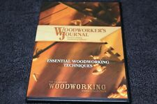 Woodworkers Journal DVD Essential woodworking tecniques