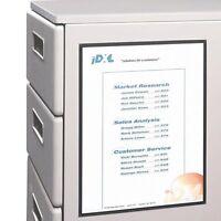 "C-line Cubicle Keepers 37911 Display Holder - 11"" X 8.5"" - Polypropylene - 2 /"