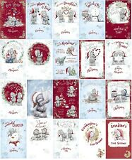 CHRISTMAS CARDS - Medium - Carte Blanche Tatty Teddy Me to You - Christmas Card