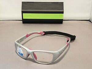 NEW Wiley X Youth Force Wx Victory Silver / Magenta Frame Sunglasses 51 18 125