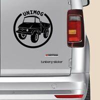 "Auto Aufkleber  ""UNIMOG  406""   15x15cm     Sticker   Aufkleber   Fahrzeuge"