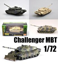British MBT Challenger Tank 1/72 finished collection Easy Model