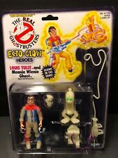 RARE Real Ghostbusters Ecto Glow Heroes Louis Tully Meanie Wienie Figure MOC