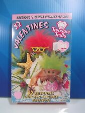 VALENTINE'S DAY TROLL CARDS -  ACE TREASURE TROLLS - New - RARE