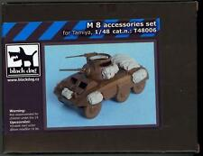 Blackdog Models 1/48 M8 GREYHOUND ARMORED CAR ACCESSORIES SET Resin Detail Set