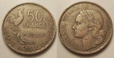50 Francs Guiraud 1950, TTB, Très rare !!