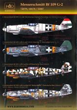 Hungarian Aero Decals 1/48 MESSERSCHMITT Bf-109G-2 Fighter German & Hungarian