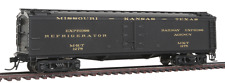 "HO Scale BROADWAY LIMITED 1832 MISSOURI KANSAS TEXAS GACX 53'6"" Wood Exp. Reefer"