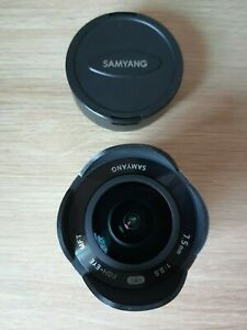 SAMYANG 7.5mm Fisheye Lens for Micro Four Thirds Silver