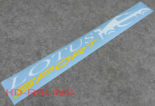 Lotus Sport Windscreen Window Sticker Vinyl Decals Elise Exige Ship X 1
