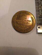 Football Commemorative Medal 1972 Centenary FA Cup Leeds United v Arsenal