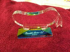 """WDCC Donald Duck """"Donald's Better Self"""" Martine Millan Crystal Promo"""