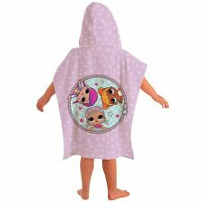 L.O.L. SURPRISE HOODED PONCHO TOWEL NEW GIRLS