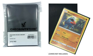1000 COS Double Matte Black Protective Sleeves MTG, Pokemon, Board Games