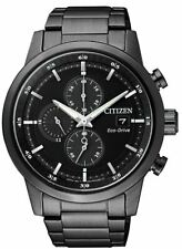 Citizen Eco-drive Cronógrafo Dial Negro para Hombre 43mm Reloj CA0615-59E de múltiples