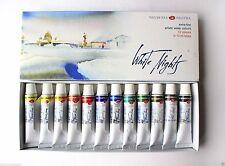 Watercolor Paint  White Nights Nevskaya palitra  RUSSIAN 12 Set  in 10ml tubes.