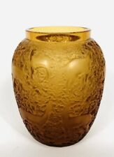 ART DECO  R Lalique Vase Biches Or Circa 1923 Lalique Ⓒ France