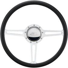 BILLET SPECIALTIES Split Yoke Polished 15-1/2 in Steering Wheel P/N 34137 - SAVE