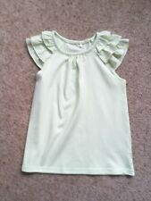 GEORGE GIRLS PRETTY TOP WITH FRILL CAP SLEEVES  AGE 4-5 YEARS  EX COND